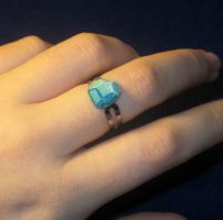 Minecraft Diamond Ring by zynwolf