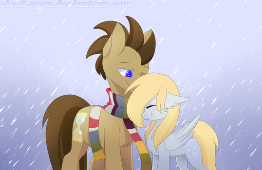 Doctor Hooves and Derpy 5 season by AlenD-nyan
