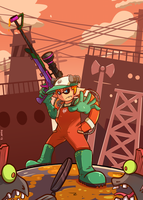 Splatoon: Salmon Run by HyperionNova