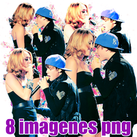 pack png 78 Miley and Justin by MichelyResources