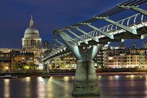 Millennium Bridge by lesogard
