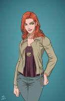 Lauren Drake (Earth-27) commission by phil-cho