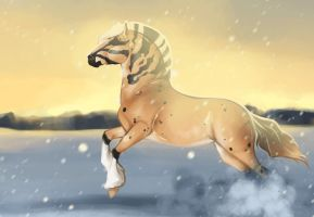 Golden Winter by s1088