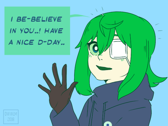 a message from Septic Sammy by Milk-Addicc
