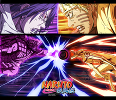 Naruto 695 - Epic Fight!!!! by HikariNoGiri