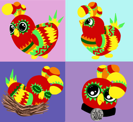 Cluckles (Viva Pinata) by KickingKoryAnders