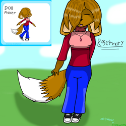 Birth of Rosemary the Dog! by IttyBitty1996