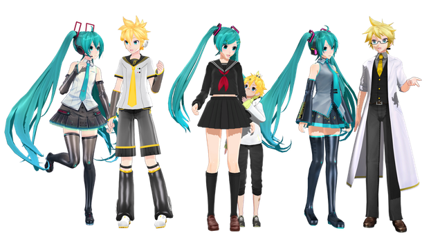 [MMD+Download] Kiseki by 01mikuxlen02