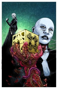 CLIVE BARKER'S HELLRAISER: BESTIARY 5 Cover Color by sobreiro