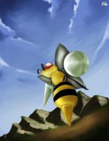 A Wild Beedrill Appears