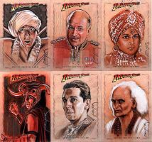 Temple of Doom sketch cards 1 by jasonpal