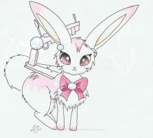 ChibiLi Bunny Form concept by ChibiLi