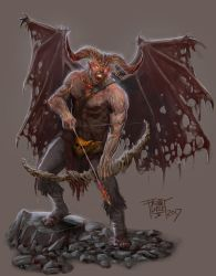 DC: Arch-Demon Magmus by GraphicGeek