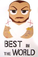 CM Punk - Best in the World by ChristinaDeath