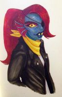 Undyne by Lollo-hehe