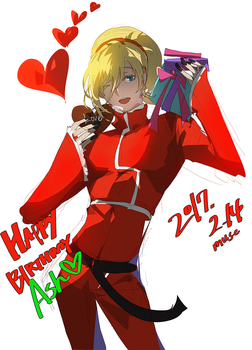 happy birthday ash 2017! by muse-kr