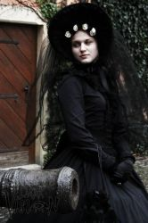 Early Spring Victorian Widow II by MaladiaNocturna