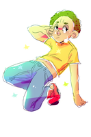 Star Child Morty by avaKados