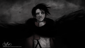 Levi's sorrow by DarkFerreh