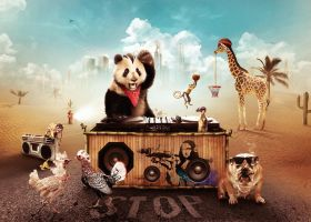 Party Animals by visio-art