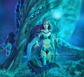The Queen of Atlantis by 4steex