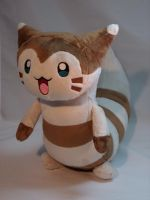 Furret Plushie by makeshiftwings30