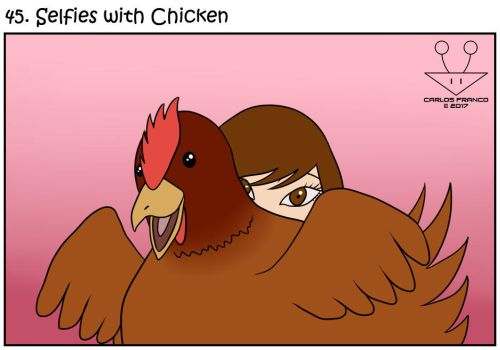 CB! - Selfies with Chicken by BurgerForLunsh