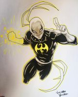Iron Fist Commission by LucianoVecchio