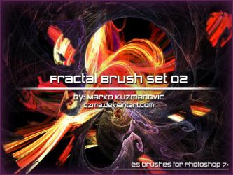 Fractal Brush Set 02 by Qzma