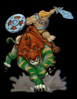 He-Man 3D by lordmesa