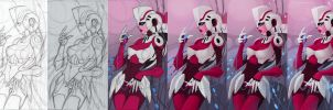 Work Process - Arcee by silverteahouse