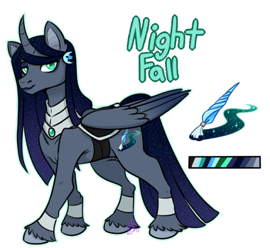 Night Fall Official Ref by Eve-Of-Halloween