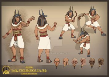 Project Duat - Ptolemaios II by Eanny