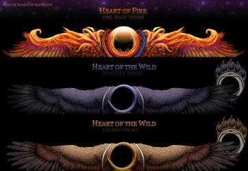 Heart of the Wild and Fire UI by Triggerman