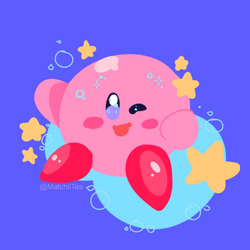 Kirby by MatchiiTea