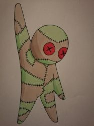 Salie the voodoo doll by MosquitoDrawsNStuff