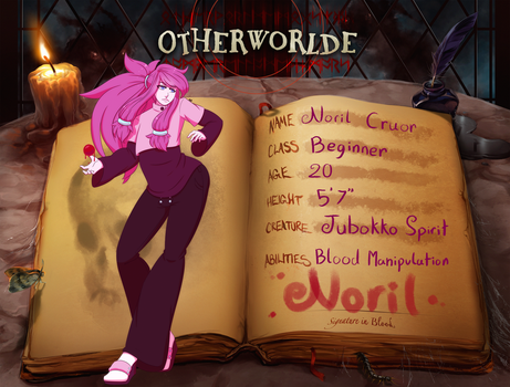 Noril Otherworlde App by BunnyGirl150