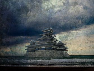 Castle in the Sea by HekiSeijuro