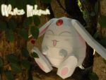 White mokona by Toshikun