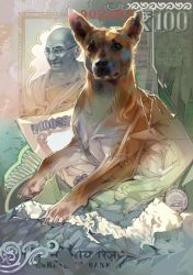 Man's best friend. India. 100 rupees. by LimKis