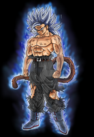 Kenzuran Ultra Instinct by Michsto