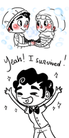 Klaine - Spam Doodles 1 by Sunshunes