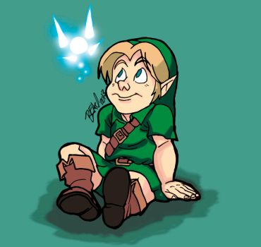 Young Link by bleyerart