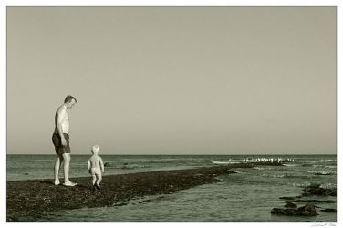 Father and Son by Lenn0