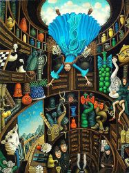 Tanya Miller - Alice Down the Rabbit Hole by QCC-Art