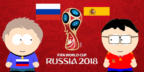 Russia VS Spain by FrenchKidSPCreator
