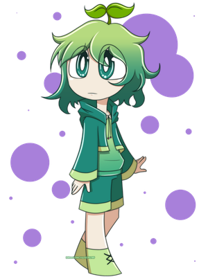 [FIRST PLACE PRIZE (2/4)] Little Green Guy by DragonChaser195