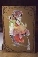 Please, Wilson, don't starve! by NAR-NI