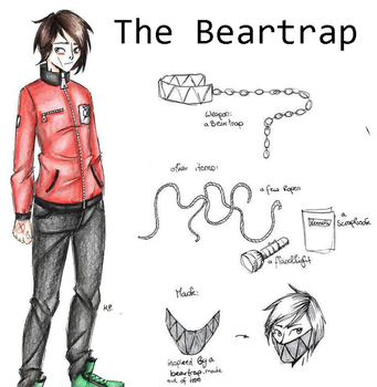 The Beartrap (Proxy OC) by MikuParanormal