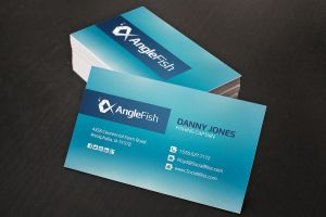 Fish-business-card-design by xstortionist